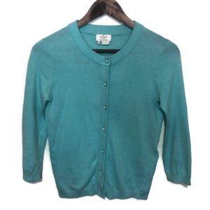 Kate Spade women's cardigan XXS mint green